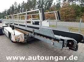 Josef Meyer frech - Gepäckbandwagen baggage conveyer belt loader Airport GSE